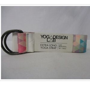 Yoga Lab Design Tribeca Sand Extra Long Yoga Strap